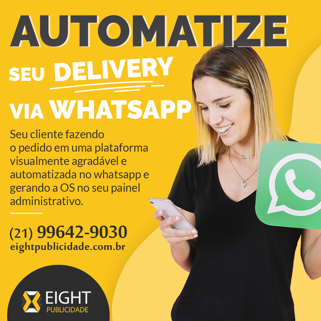 Automatize seu delivery via whatsapp!
